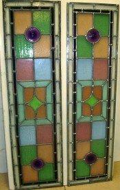 Door panes restored using customers' existing glass