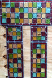 The finished window panes